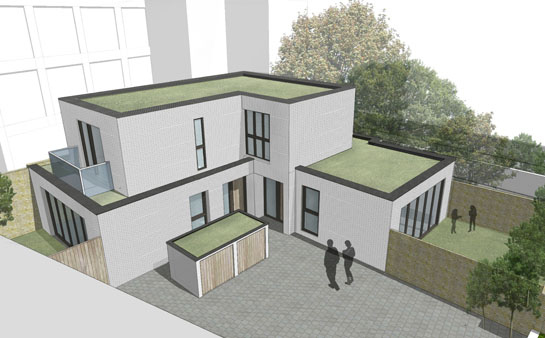 2 New Contemporary Houses