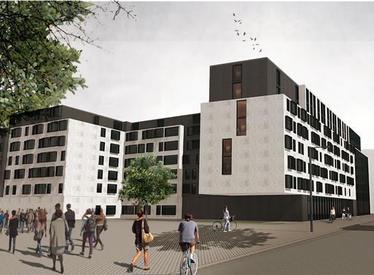 Student housing development